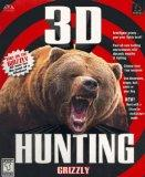 3-D Hunting Grizzly
