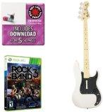 Mad Catz Rock Band 3 Bass Bundle - Includes: Red Hot Chili Peppers Bonus Tracks, Full Game, ...