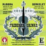 Rubbra: Violin Sonata No.2; Berkeley: Sonatina, Theme & Variations; Reizenstein: Prologue, V...