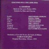 Puccini: La Bohme [Audio CD] Puccini, Giacomo