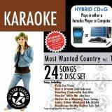 ASK-98 Karaoke: Most Wanted Country W/Karaoke Edge, Garth Brooks, George Strait, Taylor Swift