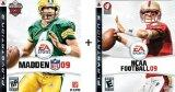 PS3 Combo Madden NFL 09 + NCAA Football 09 [Playstation 3]