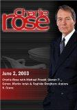 Charlie Rose with Michael Powell; Steven P. Cohen, Martin Indyk & Raghida Dergham; Andrew S....