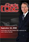 Charlie Rose with Bob Graham; Ron Howard & Jim Lovell; Salman Rushdie (September 18, 2002)