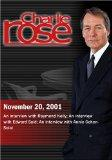 Charlie Rose with Raymond Kelly; Edward Said; Annie Cohen-Solal (November 20, 2001)