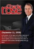 Charlie Rose with Lawrence Tribe, William F. Buckley, Jr., & Margaret Carlson; Gardner Taylo...