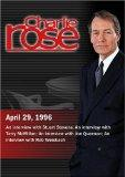 Charlie Rose with Stuart Stevens; Terry McMillan; Joe Queenan; Rob Weisbach (April 29, 1996)