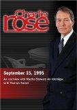 Charlie Rose with Martha Stewart; Thomas Sowell (September 15, 1995)