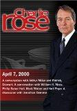 Charlie Rose with Arthur Miller; Patrick Stewart; William H. Macy; Jonathan Demme (April 7, ...