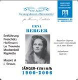 Erna Berger, Historical Opera Recordings from 1947-50