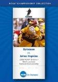 1989 NCAA(r) Division I Men's Lacrosse National Championship - Syracuse vs. Johns Hopkins