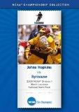 2000 NCAA(r) Division I Men's Lacrosse National Semi-Final - Johns Hopkins vs. Syracuse