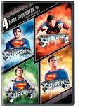 4 Film Favorites: Superman (Superman II: Special Edition, Superman III: Deluxe Edition, Supe...
