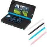 GTMax Black Silicone Skin Rubber Soft Case + 4 Colors Stylus (White / Black /Blue/Pink) for ...